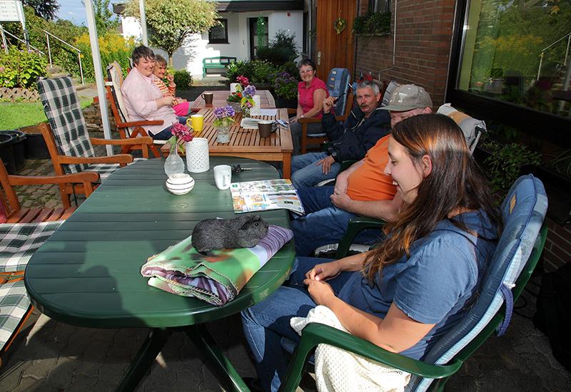 Leben im Wohnverbund mit 5 Wohnplätzen des Betreuten Wohnen